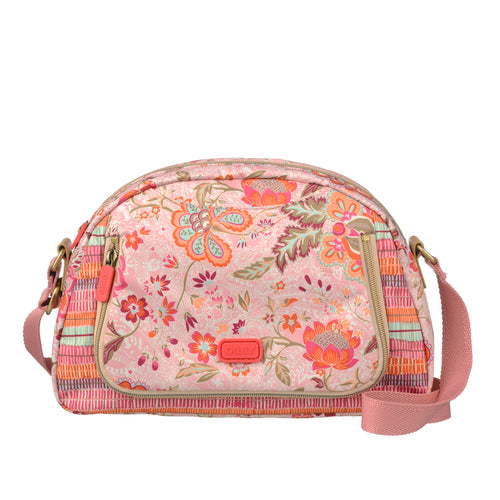 Oilily Ladies City Shoulder Bag (M) | Peach - KaryKase