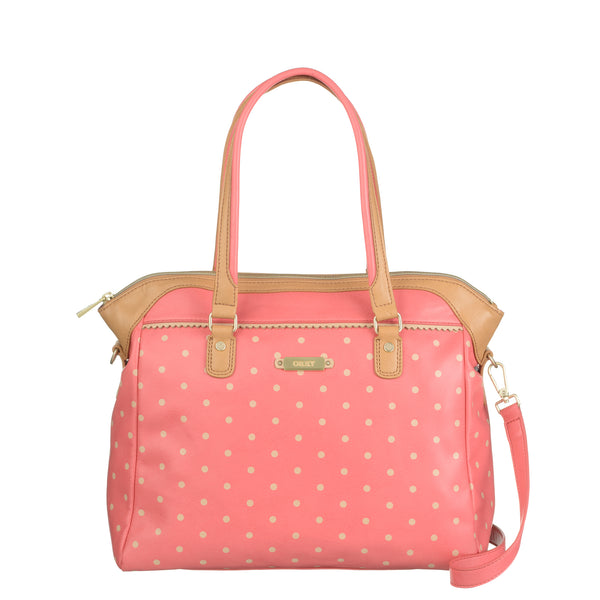 Oilily Ladies carry All Medium Handbag | Coral - KaryKase