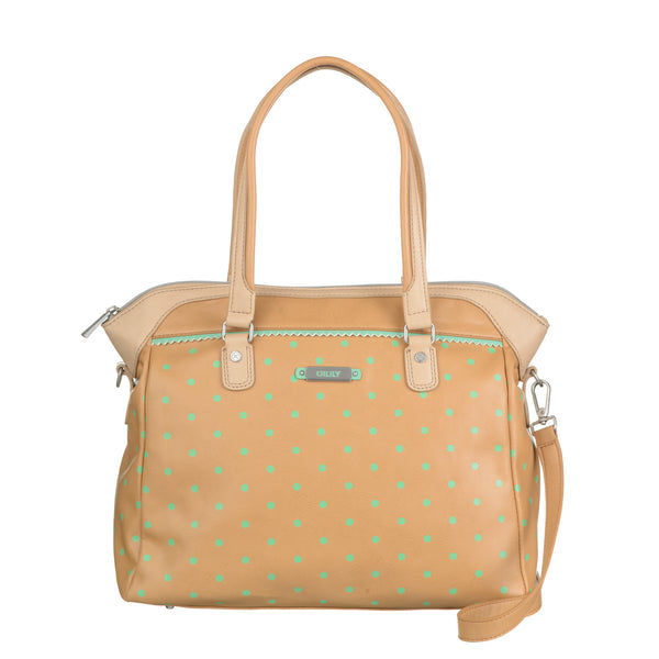Oilily Ladies carry All Medium Handbag | Tan