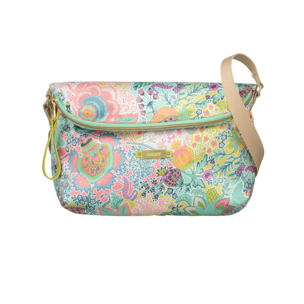 Oilily Ladies Flat Shoulder Bag (M) | Mint