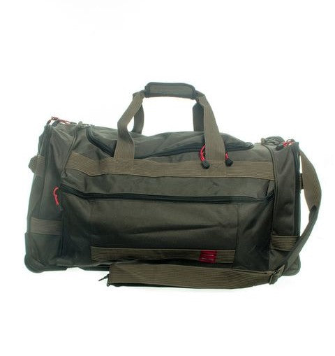 Tosca Trail Cardura Wheeled Duffel Bag | Green - KaryKase