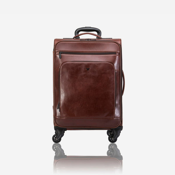 Brando Winchester Authentic Leather Cabin Bag | Brown - KaryKase