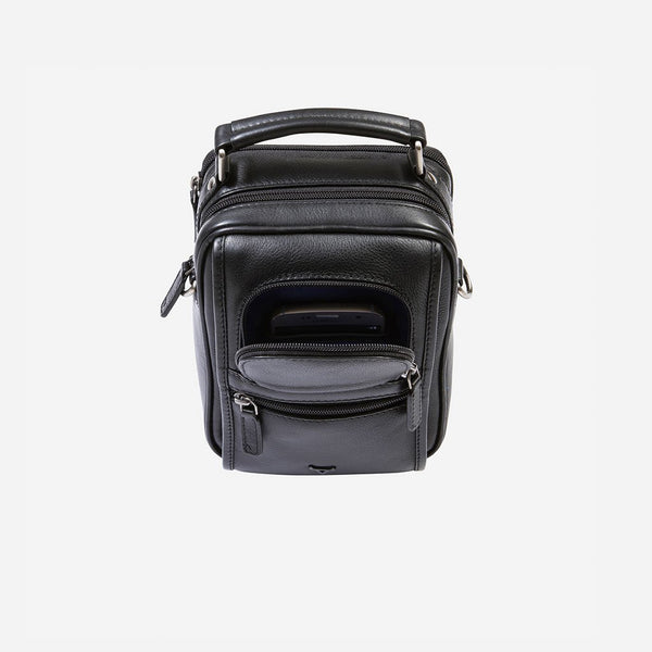 Brando Armstrong Gent's Bag With Top Handle | Black - KaryKase