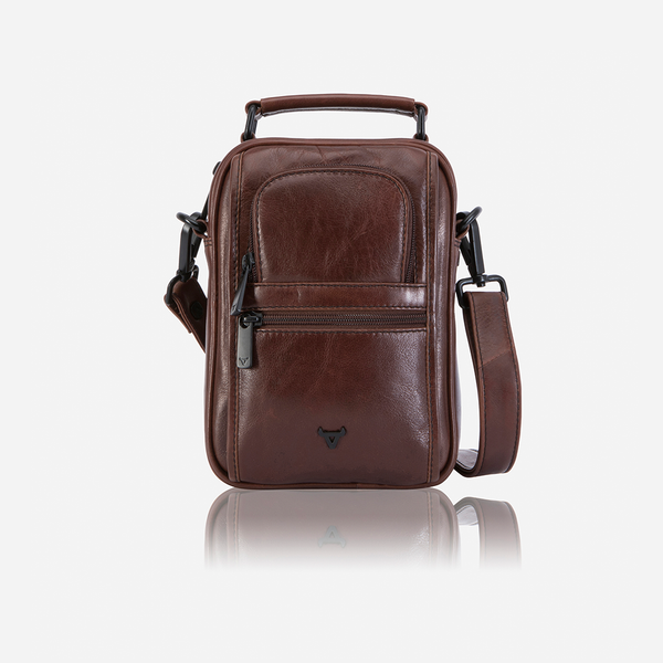 Brando Winchester Gent's Bag With Top Handle | Tan - KaryKase