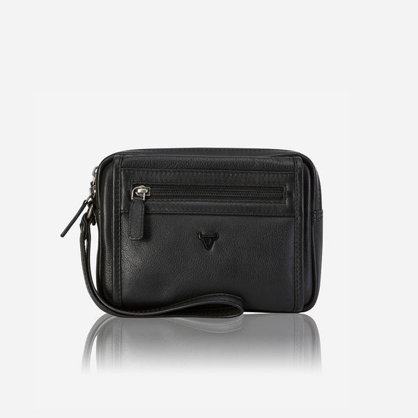 Brando Armstrong Gent's Bag With Hand strap | Black - KaryKase