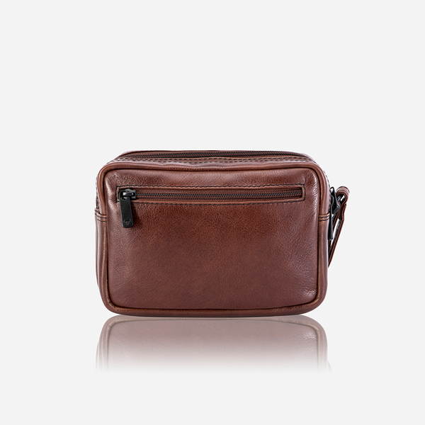 Brando Winchester Gent's Bag With Hand Strap | Brown - KaryKase