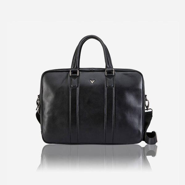 "Brando Cassidy 15"" Double Cass Laptop Briefcase 