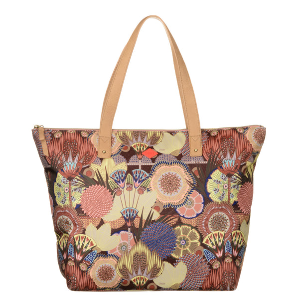 Oilily Ladies Beach Shopper Bag | Cherry Wood