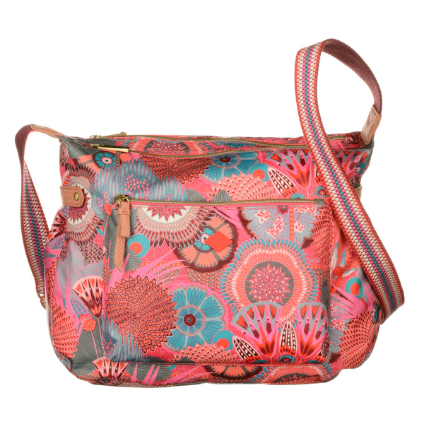 Oilily Ladies Shoulder Bag | Raspberry - KaryKase