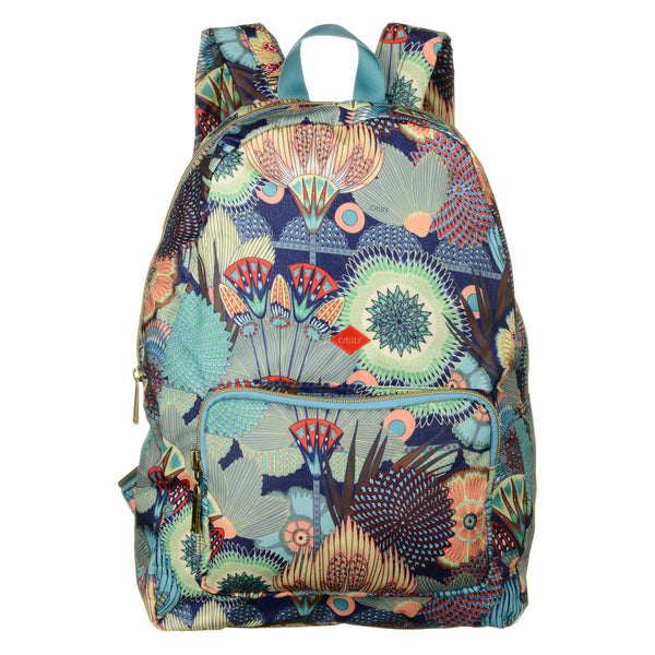 Oilily Ladies Folding Backpack | Lagoon