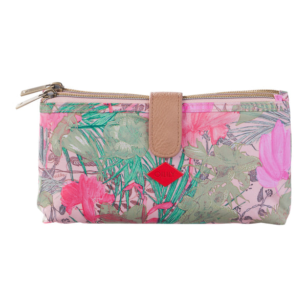 Oilily Double FLat Cosmetic Bag | Melon - KaryKase