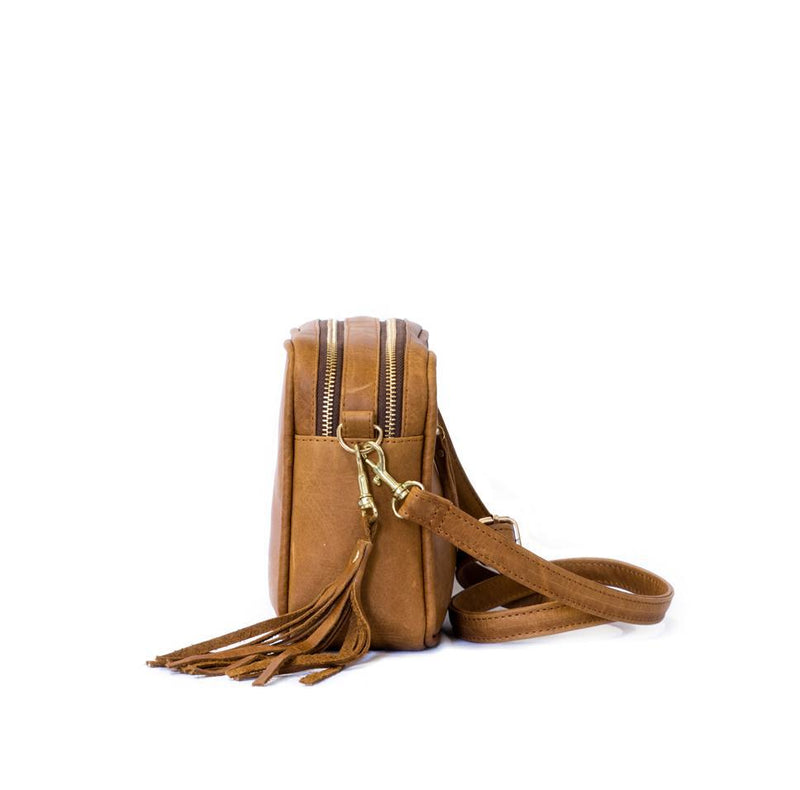 Mally Suzie Leather Sling Bag | Brown