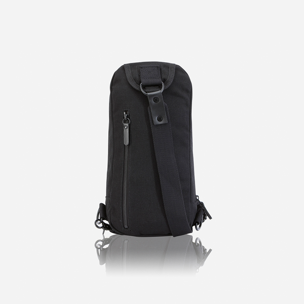 Brando Canvas Single Strap Backpack | Black - KaryKase