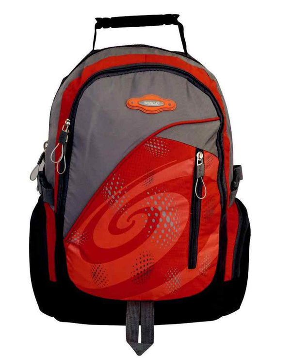 Tosca Sport Nylon Backpack | Orange - KaryKase