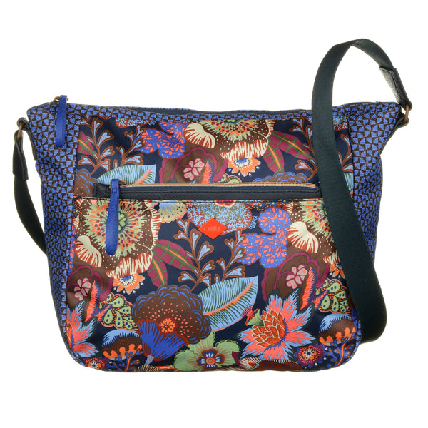 Oilily Kiwano Ladies Large Satchel | Blue Berry