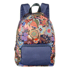 Oilily Kiwano Ladies Folding Backpack | Blue Berry