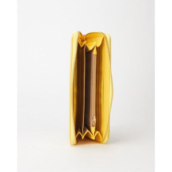 Pierre Cardin Cassandra Cut-out Purse | Yellow - KaryKase