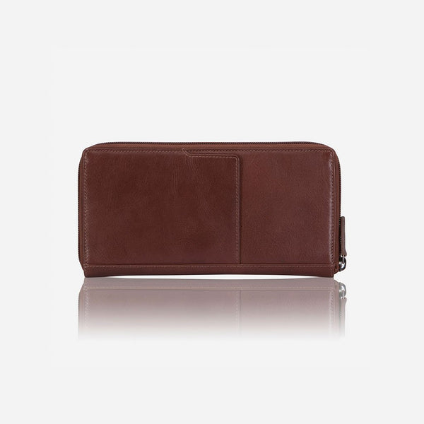 Brando Dakota Executive Leather Pocketbook | Brown - KaryKase