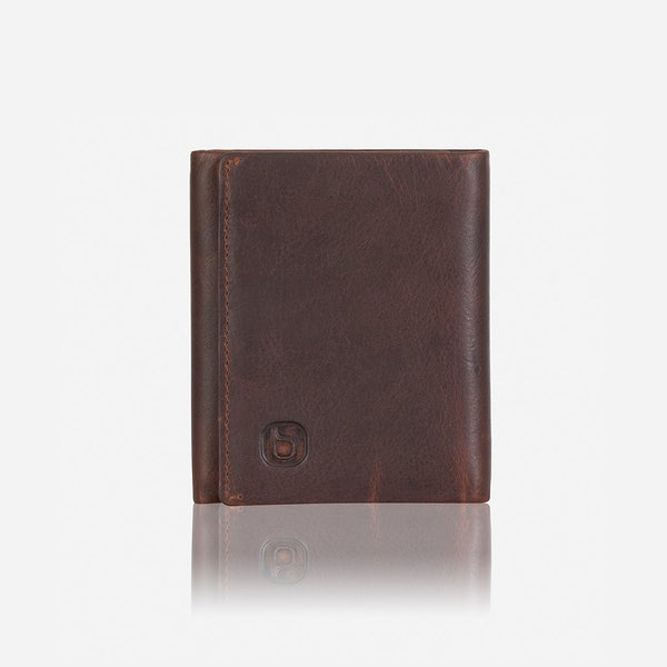 Brando Eastwood Trifold Compact Leather Wallet | Brown