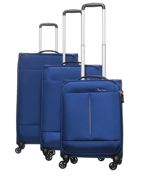 Pierre Cardin Ultralite 4 Wheel Spinner Luggage Set | Blue - KaryKase