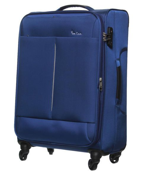 Pierre Cardin Ultralite 4 Wheel Cabin Spinner | Blue - KaryKase