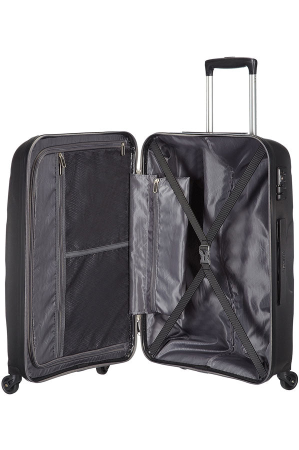American Tourister Bon Air 75cm Medium Spinner | Black - KaryKase