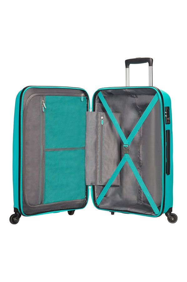 American Tourister Bon Air 75cm Medium Spinner | Deep Turquoise - KaryKase