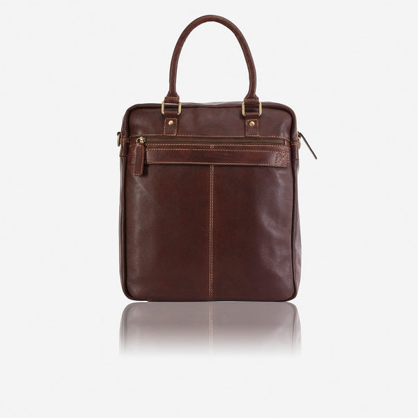 Brando Asher Upright Travel Bag | Brown - KaryKase