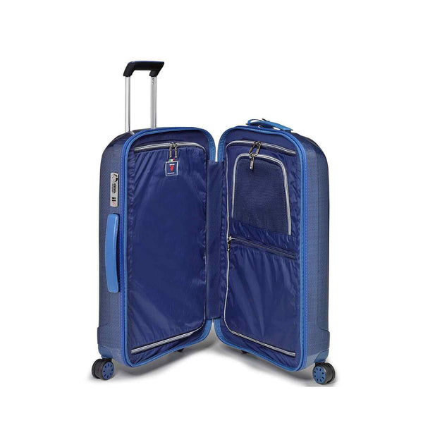 Roncato We Are Glam 80cm Large Spinner | Blue - KaryKase