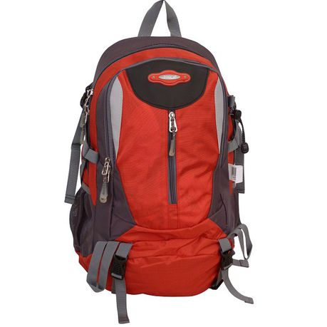 Tosca Sports Hiking Frame Backpack | Red/Grey - KaryKase