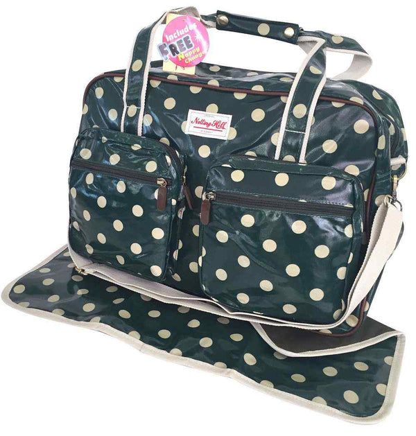 Notting Hill 2 Pocket Nappy Bag | Dots - KaryKase