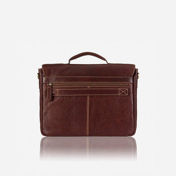 Brando Asher Briefcase | Brown - KaryKase