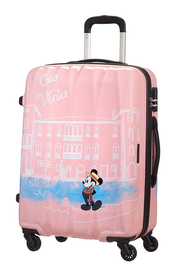 American Tourister Disney Legends 65cm Medium Spinner | Mickey Venice - KaryKase