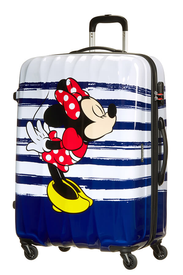 American Tourister Disney Legends 75cm Large Spinner | Minnie Kiss - KaryKase