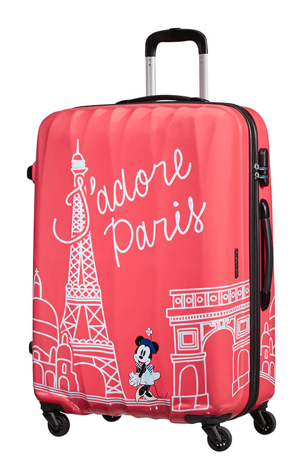 American Tourister Disney Legends 75cm Large Spinner | Minnie Paris - KaryKase