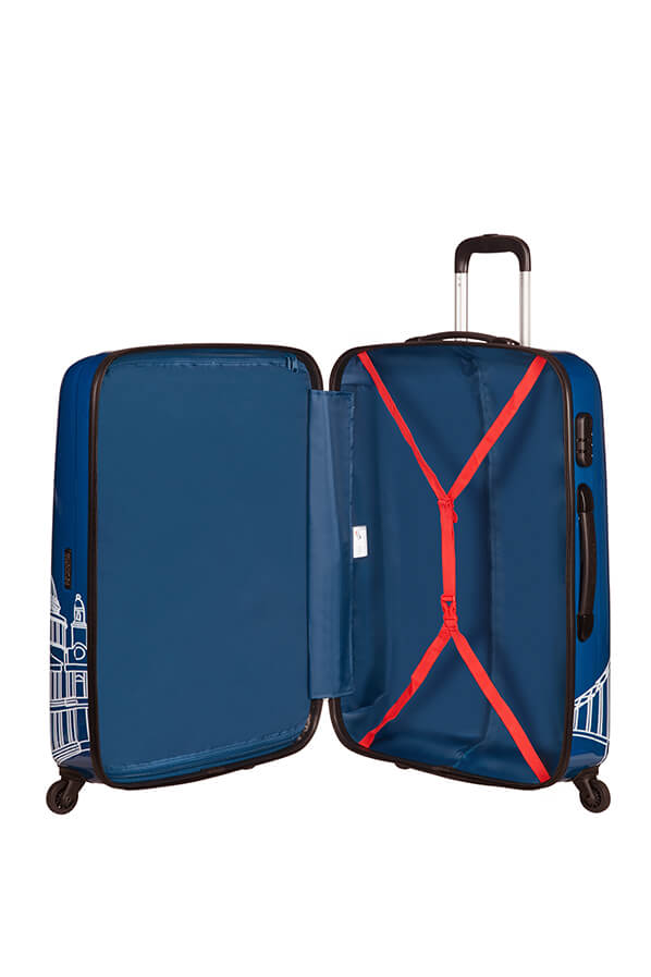 American Tourister Disney Legends 75cm Large Spinner | Mickey London - KaryKase