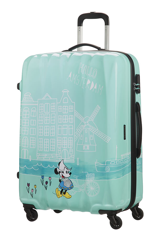 American Tourister Disney Legends 75cm Large Spinner | Minnie Amsterdam - KaryKase