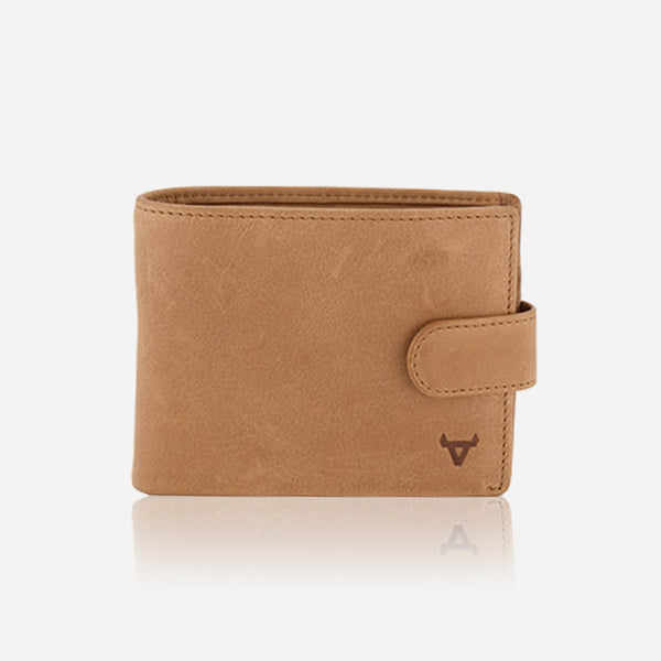Brando Cooper Multi Card Leather Wallet | Tan