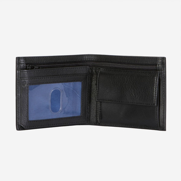 Brando Armstrong Classic Billford Men's Leather Wallet | Black