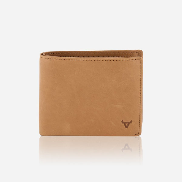 Brando Cooper Leather Wallet With Flap | Tan