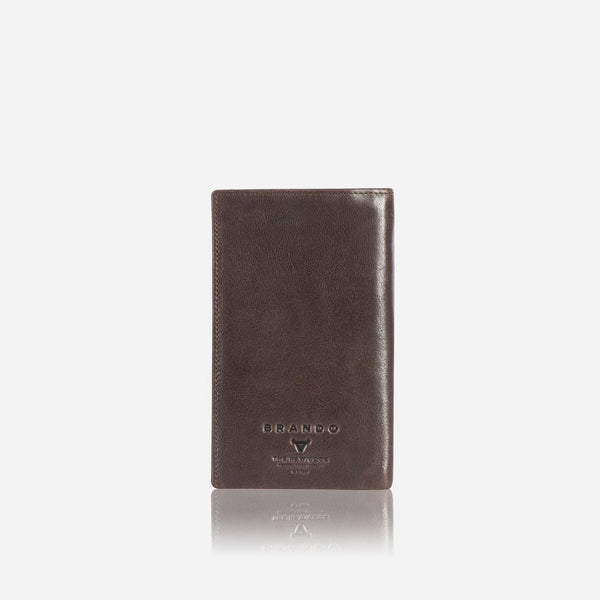 Brando Cooper X Leather Pocketbook | Brown