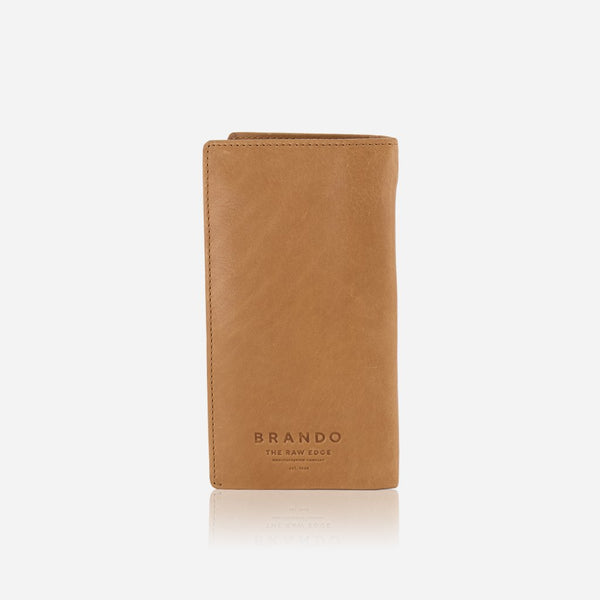 Brando Cooper Genuine Leather Pocketbook  | Tan