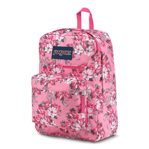 Jansport Digibreak Exclusive Laptop Backpack | Prism Pink Pretty Posey - KaryKase
