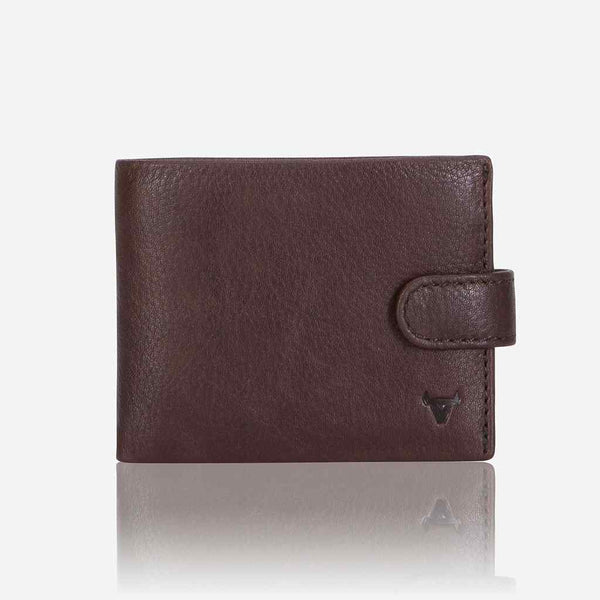 Brando Impala Multi Card Leather Wallet | Dark Brown