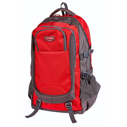 Tosca Edison Large Hiking/School Backpack | Red - KaryKase