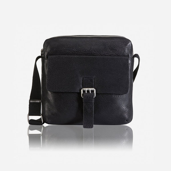 Brando Cooper Crossbody Tablet Bag | Black - KaryKase