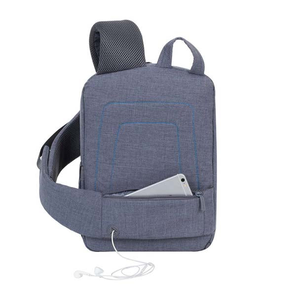 "Rivacase (7529) 13.3"" Laptop Sling Backpack 