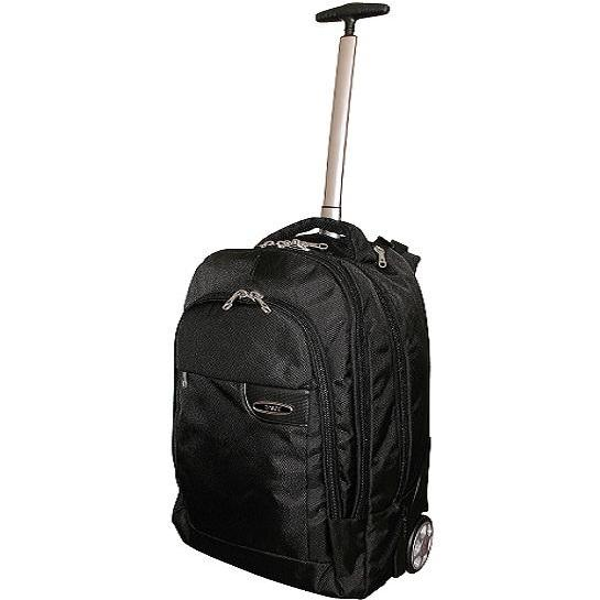 "Tosca Deluxe 15"" Laptop Trolley Backpack 