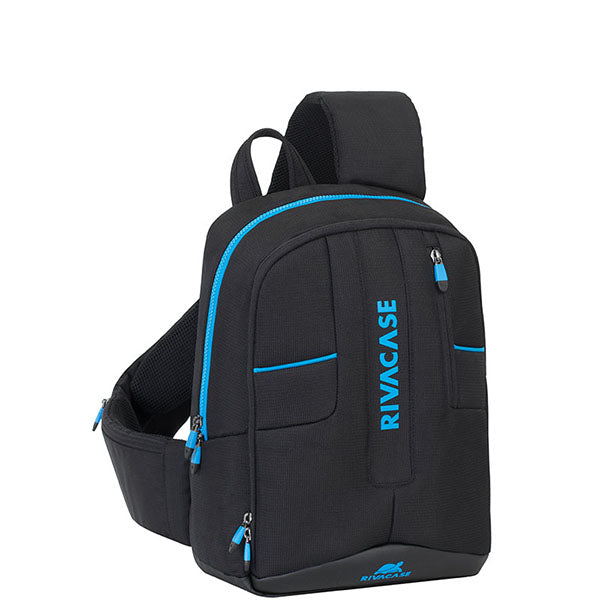 Rivacase (7870) Mini Drone & 13.3'' Laptop Sling Backpack | Black