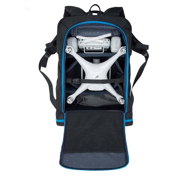 Rivacase (7890) Drone & 16'' Laptop Backpack(Large) | Black